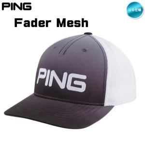2019 PING ピン フェダー メッシュ キャップ Fader Mesh Cap 34161 USモデル「メール便不可」「あすつく対応」|fujico