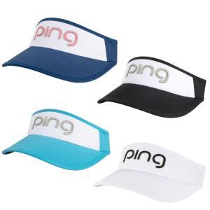 レディース 2019 PING ピン Ladies Visor バイザー 33770 女性 USモデル「メール便不可」「あすつく対応」|fujico