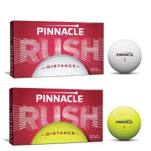 2019 ピナクル ラッシュ PINNACLE RUSH 15球 ゴルフボール US仕様「メール便不可」「あすつく対応」|fujico