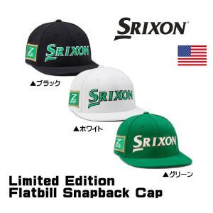 SRIXON スリクソン スナップバック フラットビル キャップ US直輸入品