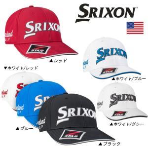 2017 SRIXON スリクソン TOUR STAFF CAP キャップ 帽子 USモデル 【ゆうパケット不可】|fujico