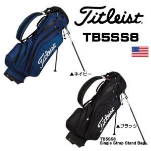 2015 タイトリスト Titleist Single Strap TB5SS8 スタンドバッグ 9型 US仕様|fujico