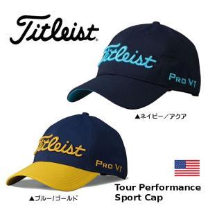 タイトリスト Sports Collection Tour Performance キャップ 帽子 TH6ATPS【ゆうパケット不可】|fujico