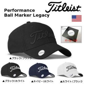 2017 タイトリスト マーカー付き Performance Ball Marker Legacy キャップ 帽子 TH7APBM-P12 【ゆうパケット不可】|fujico