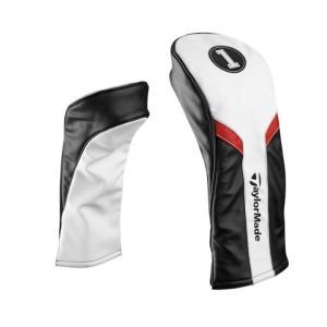 2017年モデル テーラーメイド Taylormade ヘッドカバー ドライバー用 (WH/BK/RD) US限定 「メール便不可」「あすつく対応」|fujico