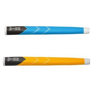 winn ウィン ホワイトライン 68WL-GY/YL 68WL-GY/SB ミッドサイズ パターグリップ 黄色 スカイブルー【ゆうパケット(メール便)に変更できます】|fujico