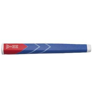winn ウィン 88WL-BL/RD ジャンボサイズ パターグリップ【ゆうパケット(メール便)に変更できます】|fujico