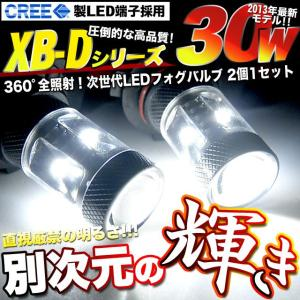 LED HB4 9006 H8 PSX26W T20ダブル 30W CREE製 XBDR5端子採用|fujicorporation2013
