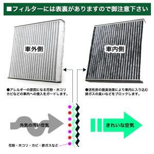 エアコンフィルター ホンダ 3層構造 活性炭 オデッセイ RB ステップワゴン RG RK ストリーム エリシオン アコード ワゴン Air-04|fujicorporation2013|05