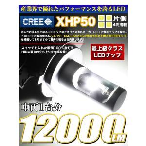 LEDヘッドライト H4 12v/24v対応 6500k  12000LM 1年保証|fujicorporation2013|03