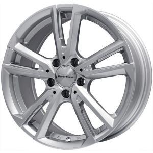 ボルボ(V60) スタッドレスタイヤ ホイールセット 235/40R18 18インチ■YOKOHAMA アイスガード6 IG60■EUROTECH ユーロテック ガヤ ソリ(シルバー) 7.50-18|fujicorporation