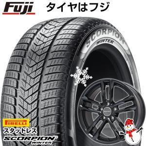 ボルボ V60 クロスカントリー スタッドレスタイヤホイールセット 215/65R16 16インチ スコーピオン ウィンター EUROTECH ガヤ5(グロスブラック) 6.50-16|fujicorporation