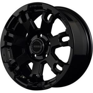 RAYS デイトナ FDX F7 7.00-16 FR:5H/114 ブラック・BLACK/RIM ...