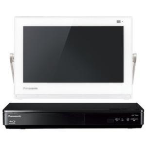 ブルーレイディスクプレーヤー/HDDレコーダー付ポータブル地上・BS・110度CS デジタルテレビ UN-10TD6-W