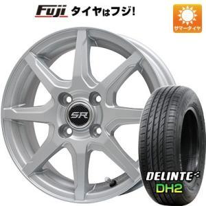 155/65R14 14インチ■BRANDLE ブランドル S8 4.50-14■DELINTE デリンテ DH2(限定) サマータイヤ ホイールセット|fujidesignfurniture