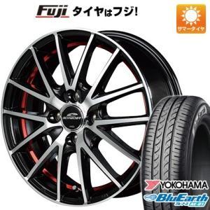 165/70R13 13インチ MID シュナイダー RX27 4.00-13 YOKOHAMA ブルーアース AE-01 サマータイヤ ホイールセット|fujidesignfurniture