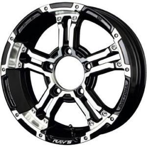 RAYS デイトナ FDX-J 5.50-16 5H/139 ブラックダイヤモンドカット トーヨー ...
