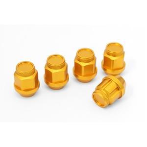 ジュラルミン冷間鍛造レーシングナット&ロックセット(ショート ゴールド) ※単品購入の場合別途送料がかかります。 fujidesignfurniture