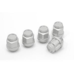 ジュラルミン冷間鍛造レーシングナット&ロックセット(ショート シルバー) ※単品購入の場合別途送料がかかります。 fujidesignfurniture