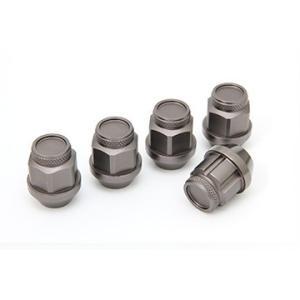 ジュラルミン冷間鍛造レーシングナット&ロックセット(ショート チタニウム) ※単品購入の場合別途送料がかかります。 fujidesignfurniture