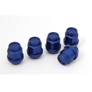 ジュラルミン冷間鍛造レーシングナット&ロックセット(ショート ブルー) ※単品購入の場合別途送料がかかります。 fujidesignfurniture