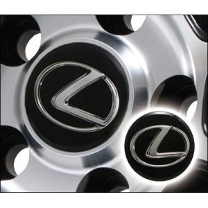 レクサス純正センターキャップ レクサスマーク 4個セット PCD 5穴/114用|fujidesignfurniture