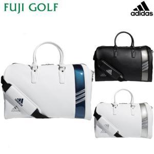 ゴルフ ボストンバッグ adidas アディダス ピュアメタルボストンバッグ2  AWT82 シューズインポケット付き 2019年SSモデル|fujigolf-kyoto