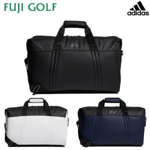 ゴルフ ボストンバッグ adidas アディダス マットPU ボストンバッグ XA218 メンズ 2019年SSモデル|fujigolf-kyoto