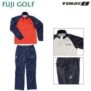 ゴルフ レインウェア メンズ ブリヂストン ゴルフ TOUR B ツアーB 88G31 レインブルゾン・レインパンツ(上下セット)|fujigolf-kyoto