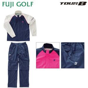 レディース ゴルフ レインウェア ブリヂストン ゴルフ TOUR B ツアーB 88G51 レインブルゾン・レインパンツ(上下セット) fujigolf-kyoto