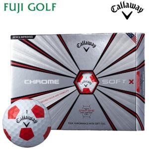 Callaway キャロウェイ CHROME SOFT X TRUVIS クロムソフト エックス トゥルービス ゴルフボール 1ダース 2018年|fujigolf-kyoto