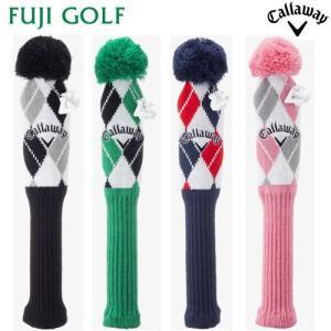 Callaway キャロウェイ Knit Fairway Head Cover 17 JM フェアウェイ用 ニット ヘッドカバー|fujigolf-kyoto