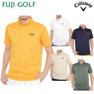 数量限定 ゴルフ ポロシャツ Callaway Golf キャロウェイ ゴルフ リーフ柄ジャカードB.Dレギュラーカラーシャツ 2419157526 2019年モデル|fujigolf-kyoto