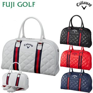 ゴルフ レディース ボストンバッグ Callaway GOLF キャロウェイゴルフ PU Sport Boston Women's 19 JM シューズイン 2019年モデル|fujigolf-kyoto