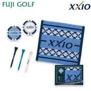 ゴルフ ギフト DUNLOP XXIO ダンロップ ゼクシオ タオル・マーカー・ティ・セット ギフトコレクション GGF-10332|fujigolf-kyoto