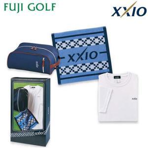 ゴルフ ギフト DUNLOP ダンロップ XXIO ゼクシオ ギフトセット タオル・Tシャツ・シューズケースセット GGF-50365|fujigolf-kyoto