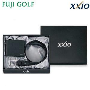 ゴルフ ギフト DUNLOP XXIO ダンロップ ゼクシオ ベルトギフト(ベルト・札入れ) GGF-80201|fujigolf-kyoto
