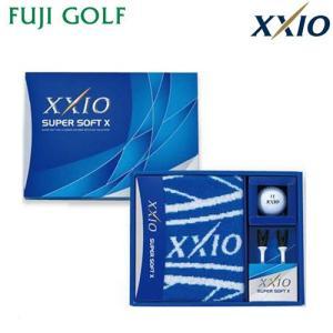 DUNLOP XXIO ダンロップ ゼクシオ SUPER SOFT X ゴルフボール ギフトコレクション GGF-F1063 【2017年モデル】 fujigolf-kyoto