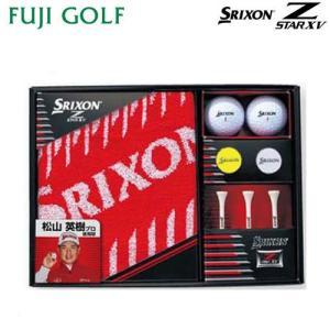 ゴルフ ギフト DUNLOP SRIXON ダンロップ スリクソン Z STAR XV ゴルフボール ギフトコレクション GGF-F2074|fujigolf-kyoto