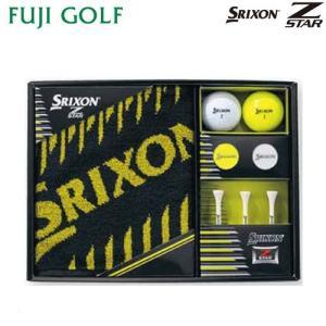 ゴルフ ギフト DUNLOP SRIXON ダンロップ スリクソン Z STAR ゴルフボール ギフトコレクション GGF-F2075|fujigolf-kyoto