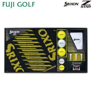 ゴルフ ギフト DUNLOP SRIXON ダンロップ スリクソン Z STAR ゴルフボール ギフトコレクション GGF-F3073|fujigolf-kyoto