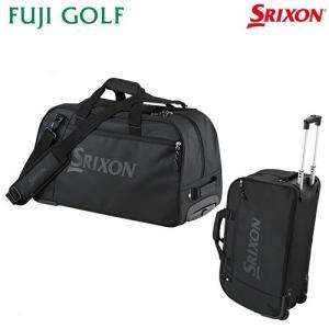 ゴルフ スポーツバッグ DUNLOP SRIXON ダンロップ スリクソン キャスター付き ボストンバッグ GGF-00514 2018年AWモデル|fujigolf-kyoto