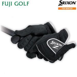 ゴルフ 防寒グローブ DUNLOP SRIXON ダンロップ スリクソン グローブ GGG-S021 メンズ ゴルフグローブ 両手用 冬季限定商品|fujigolf-kyoto