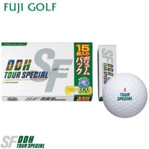 15個入りボリュームパック  数量限定 DUNLOP ダンロップ DDH ツアースペシャル SF ゴルフボール fujigolf-kyoto