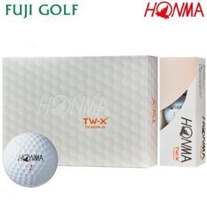 ゴルフボール 1ダース 本間ゴルフ TOUR WORLD TW-X 2018年モデル|fujigolf-kyoto