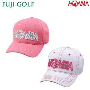 ゴルフ レディース キャップ HONMA GOLF 本間ゴルフ ステッチ入り 3D HONMAロゴ キャップ 936-734671 fujigolf-kyoto