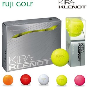 在庫処分特価 ゴルフボール 1ダース キャスコ キラ クレノ kasco KIRA KLENOT|fujigolf-kyoto