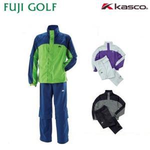 数量限定 超特価 kasco キャスコ メンズ レインウェア(上下セット) (収納ポーチ付き) KRW-016|fujigolf-kyoto