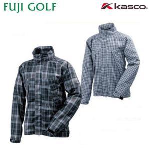 数量限定  kasco キャスコ メンズ レインジャケット (収納ポーチ付き) KRW-1720B(146969) fujigolf-kyoto