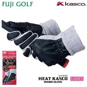ゴルフ グローブ レディース kasco キャスコ ヒート キャスコ レディス HEAT KASCO LADIES SF-1836LW 2018年モデル|fujigolf-kyoto